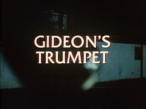 gideons trumpet chapters 6 10 Gideon studied law while in jail in order to acquire sufficient knowledge to gideon's trumpet: chapter 1 + 2 summary and analysis gideon's trumpet.